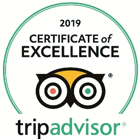 2019 Certificate of Excellence, Saku-Travel-Tallinn Private Tours